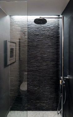 Standing Mosaic Tile Grey Standing Mosaic tile shower with white pebble tile shower pan. This but in lighter coloringGrey Standing Mosaic tile shower with white pebble tile shower pan. This but in lighter coloring Shower Lighting, Cove Lighting, Lighting Ideas, Modern Lighting, Stone Bathroom, Small Bathroom, Concrete Bathroom, White Bathrooms, Vanity Bathroom