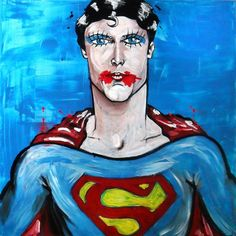 Superman by: http://alexfioratti.blogspot.it/  Now @ Casa Mazzanti Cafè - Piazza Erbe - Verona.