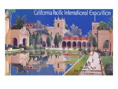 Poster for Pacific Exposition, San Diego, California Art Print at Art.com