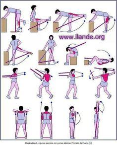 Exercises with Rubber Bands