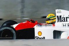Ayrton Senna,  1991