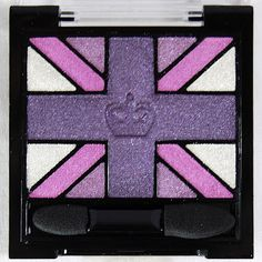Rimmel London Glam'Eyes HD Quad Eye Shadow in 006 Purple Reign