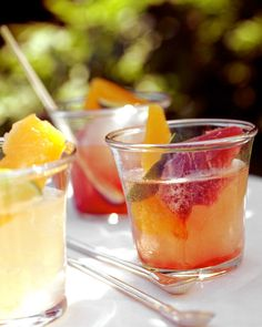 Sparkling Fruit Coolers.