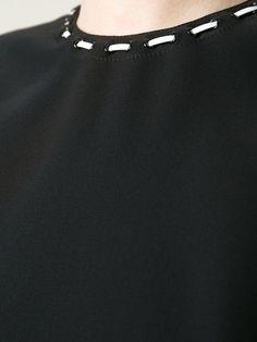 Versace Round Neck Top - Gaudenzi - Farfetch.com