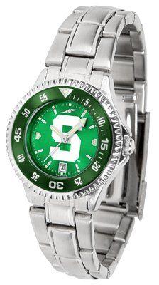 Michigan State University Spartans Competitor Anochrome - Steel Band W/ Colored Bezel - Ladies - Women's College Watches by Sports Memorabilia. $87.08. Makes a Great Gift!. Michigan State University Spartans Competitor Anochrome - Steel Band W/ Colored Bezel - Ladies