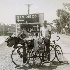 Flash Back Friday. My Dad on a bicycle camping trip with his friends, from his home in L.A. to Ensenada, Mexico, 1937. Back when kids got to be kids. #bicycle #roadtrip #fbf #flashbackfriday #roadsideamerica #sandiego #lajolla #1930s #vintagephotography #filmphotography #bicycletouring #adventure #bnw #bw #blackandwhite #bicycle #cyclinglife #ontheroad #california #lajollalocals #sandiegoconnection #sdlocals - posted by MB  https://www.instagram.com/bentwingbird. See more post on La Jolla at…