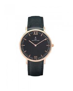 Kapten & Son Campina All Black Damen Uhr schwarz