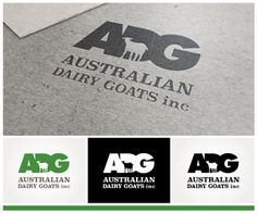 Australian Dairy Goats Inc Elegant, Playful Logo Design by Phoenix Dragon