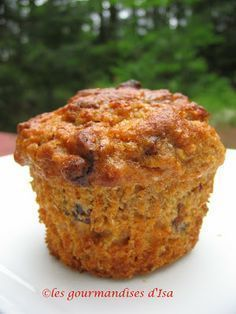 Les gourmandises d'Isa: MUFFINS AUX MIEL, DATTES ET CAROTTES Date Muffins, Breakfast Muffins, Carrot Muffins, Healthy Muffins, Scones, Desserts With Biscuits, Muffin Bread, Comfort Food, Baking Cupcakes