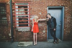 Nashville Engagement photos  lifestyle engagement photos  Franklin TN Alley photography  Tealephotography.net