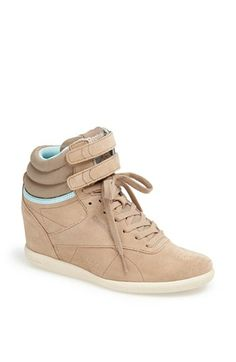 b04081c5e9ad Reebok  Freestyle Hi  Wedge Sneaker available at  Nordstrom Wedge Sneakers