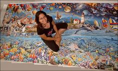 largest jigsaw puzzle ~ 24,000 pieces!