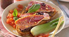Crostini de rougetVoir la recette du Crostini de rouget >>