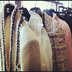 No one does tweed quite like Chanel