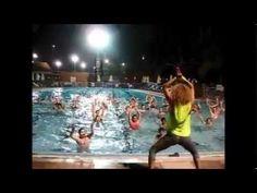 ▶ Aqua zumba - tunak tunak tun - YouTube