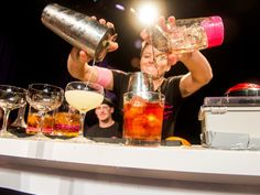 Chicks mix drinks for charity and more top food and booze events