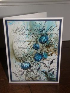 Mixed Media card by calex - Cards and Paper Crafts at Splitcoaststampers