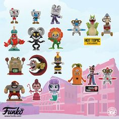 See more 'Cuphead' images on Know Your Meme! Funko Mystery Minis, Geeks, Funko Pop List, Minecraft Bedroom Decor, Funko Pop Display, Plant Zombie, Deal With The Devil, Lego, Mini Blinds