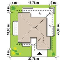 Z378 to wyjątkowy dom z kategorii projekty domów z większą liczbą pokoi