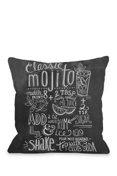 Classic Mojito Pillow | Sponsored by Nordstrom Rack.