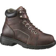 Wolverine Womens Electrical Hazard Steel Toe 6-Inch Hiking Boots. My poor toe says I need these for work :)