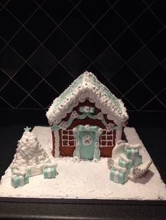 Tiffany inspired Gingerbread House