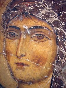 View album on Yandex. Fresco, Order Of Angels, Our Lady Of Lourdes, Byzantine Icons, Saint Michel, Orthodox Icons, Christian Art, Ancient Art, Painting Inspiration