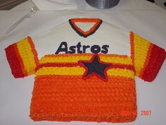 houston astros cakes