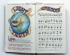 visual blessings: My Hymn Journal - Lighting My Darkness-Valerie Sjodin