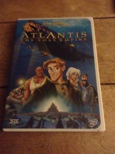 Atlantis: The Lost Empire Disney Classic (DVD, 2002) #disney, #atlantis, #dvd, #movie, #ebay