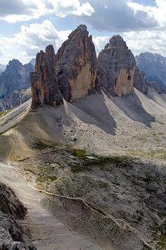 Tre Cime di Lavaredo, Dolomites, Veneto/Trentino Alto-Adige, Italy