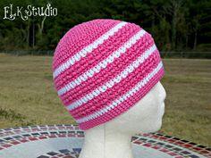 Hint of Spring using Cascade Ultras Pima Cotton by ELK Studio @crochet @freepattern #chemohat