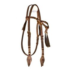 Buffalo Leather Rawhide Futurity Knot Headstall w/ Horsehair Tassels $59.99 Find it at: http://www.northerntack.com/buffalo-leather-rawhide-futurity-knot-headstall-w-horsehair-tassels.html