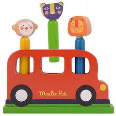 Moulin Roty Les Popipop Pop Up Bus