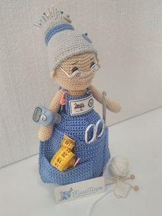 Amigurumi abuelita costurero | María Trapos. Tu tienda de punto y ganchillo.