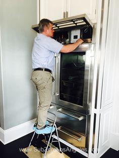 #SubZeroRefrigerator #648PRO model repaired by us in #Malibu CA  #subzerowolf #subzerorepair #subzeroservice #subzerolosangeles
