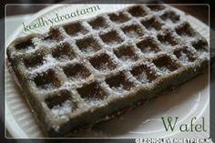 Granenvrije en koolhydraatarme wafels gemaakt met hennepeiwit. Genieten!