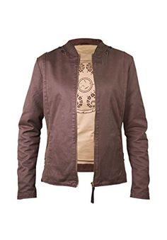1ead3d64362419 Musterbrand Zelda Women Jacket Sheika Brown M     Click on the image for  additional. Jackets ...