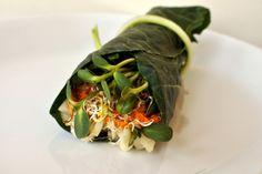 Collard Wraps Your selection of: Cucumber Carrot Daikon Radish Pepper ...
