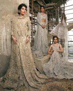 "Pakistani couture Belle Époque"" Designer @sanasafinazofficial model @amnababer @zaraabid369 @fehmeen_ansari @saarahirji Makeup @nabila_salon Retoucher @yash645 Photographer @zara_aali Magazine @tribunedit #sanasafinaz #bridal #2017 #bridalcouture #t-edit #tribune #magazine #fashion #couture #pakistanfashion #BelleEpoque"