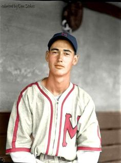 Age Ted Williams recorded OBP, highest all-time. Age he posted Baseball Uniforms, Boston Sports, Baseball Photos, Ml B, Minneapolis, Ted, Chef Jackets, I Am Awesome, Graphic Sweatshirt