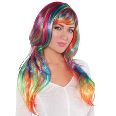 Rainbow wig for dreams n drums tonight!! (: