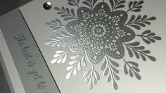Frosted Medallions Stampin' Up! created byConnie-Rae