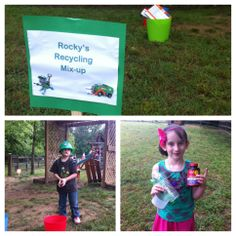 Rocky's Station for Paw Patrol party.
