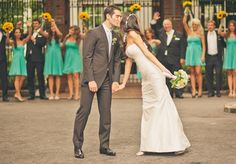 Colourful, Creative & Fun Central Park Boathouse Wedding