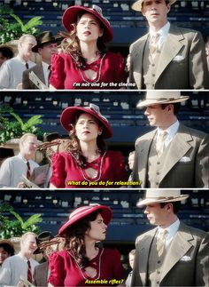 Jarvis and Peggy Carter | Agent Carter | Season 2