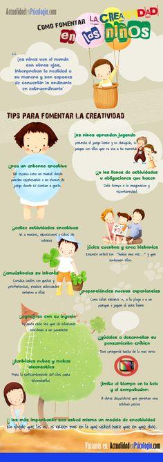 Como fomentar la creatividad en los niños #creatividad #niños