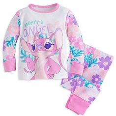 Angel PJ PALS for Baby | Disney Store Angel will serenade them to sleep with these PJ PALS for Baby. The long-sleeve top and pants…
