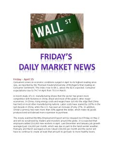 4-25-14 Friday's Daily Market News www.equitysourcemortgage.com