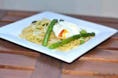 spaghetti with asparagus (season tipe = april+may)
